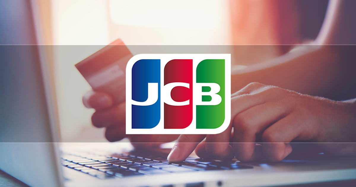 Announcement of new credit card payment: JCB